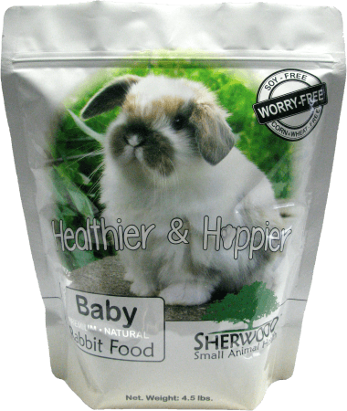 Sherwood Baby Bunny Food